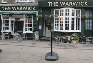 The Warwick - New Frontage